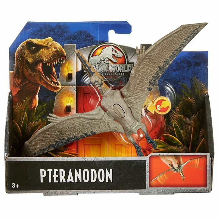 Jurassic World LEGACY COLLECTION PTERANODON FIGURE DINOSAUR 2018 FLN67 ptepinkur