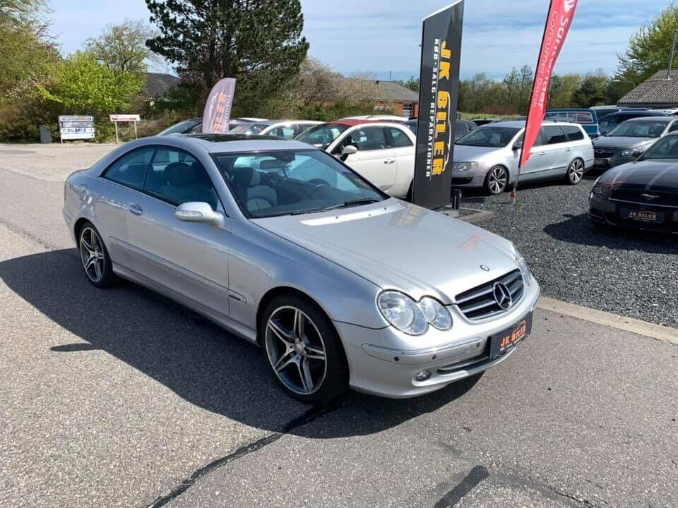 Mercedes CLK200 1,8 Komp. Elegance 2d - 59.900 kr.