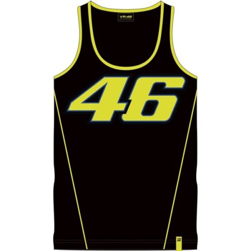 New 2018 VR46 TANK TOP-RACE Valentino Rossi The Doctor Tank Top 500//VRMTT 306104