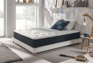 100-Gel-Mousse-Memoire-Matelas-Latex-Simple-Double-King-Super-Taille-5-QUALITE