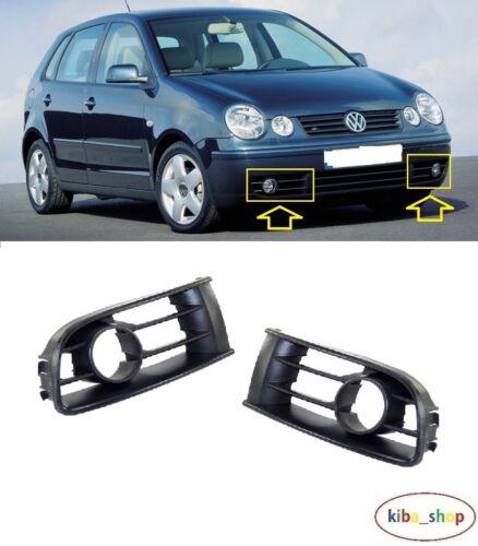 Destra VW POLO 9N 2001-2005 NUOVO PARAURTI ANTERIORE INFERIORE Nebbia Lampada Griglia Sinistra