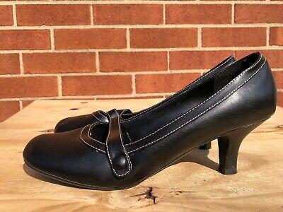Fashion Bug Women Black Mary Jane Heels