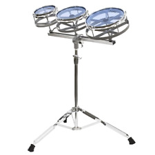 Kalos KP_6810 Roto Tom Set 6-Inch, 8-Inch and 10-Inch Toms with Stand