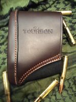 Recoil Dampener Butt Pad Sniper Carlos Hathcock Style Authentic Leather Unique