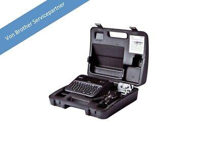 Netzteil /& Koffer 24mm 2730 Beschriftungsgerät Brother P-touch D600VP für PC