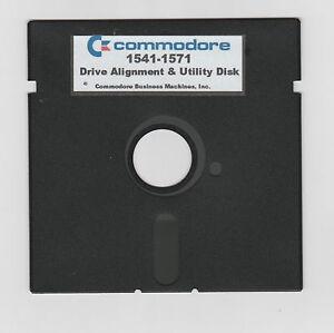 Commodore 64/128 1541-1571 Achs Programm Disk & CD