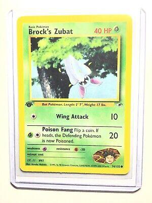Pokemon Pokemon Gym Heroes  Brock/'s Zubat R #24 EX 24