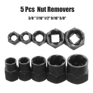 5PCS-cacciavite-Socket-Bit-10-16mm-DADO-danneggiato-Bullone-Remover-Stud-Estrattore-Strumento