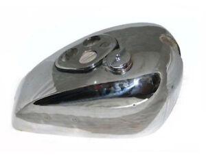 Fits-Triumph-Tiger-Essence-Reservoir-de-carburant-en-acier-chrome-avec-bouchon