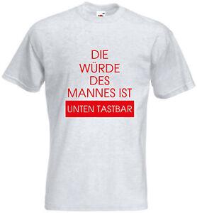 new arrival 415e7 ecb78 Details zu T-Shirt - Würde des Mannes - Vaitani - Lustige Sprüche - Shirt -  Herren - Männer