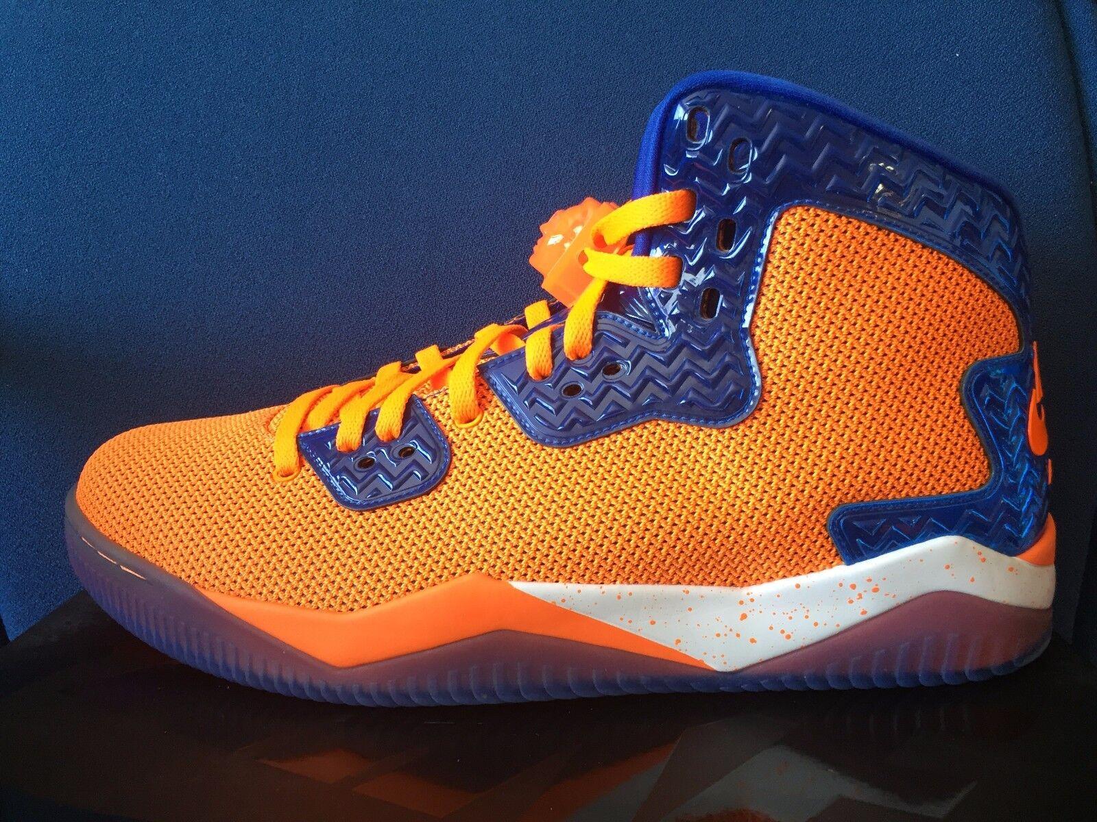 Nike Orange Air Jordan Spike Forty NY KNICKS Sz 14 Orange Nike Blue METS Broncos 807541-801 789f9c