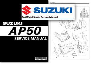 suzuki ay50 katana workshop service shop factory manual scooter ay rh ebay com Suzuki GS Series suzuki katana ay 50 service manual pdf