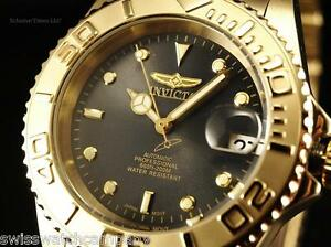 invicta men coin edged pro diver auto nh35a 18k gip dark shark image is loading invicta men coin edged pro diver auto nh35a