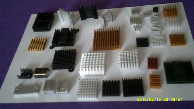 Radiador de aluminio del disipador de calor para el chipset IC Transistor Scr Mosfet TO-220 TO-247