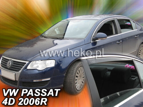 Heko 31154 derivabrisas 4 piezas VW Passat b6 b7 4 türig para trasera escalonada año 03//05-15