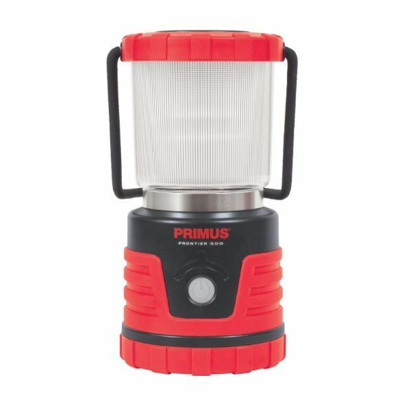 NEW PRIMUS FRONTIER CAMPING LANTERN 500  WATER RESISTANT CASE DIMMABLE LIGHTING  up to 70% off