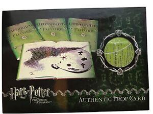 Harry Potter-3D Pt2-POA-Screen Used-Prop Card-Harry Potter/'s Hospital Sheets