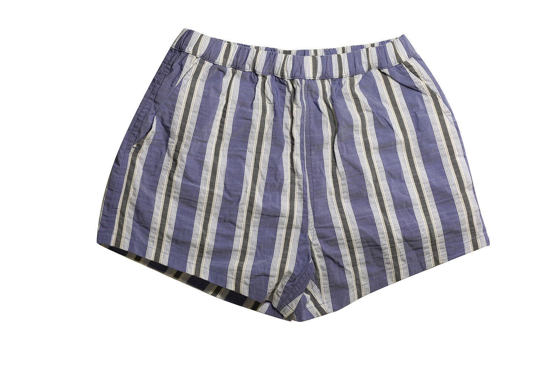 La Perla Men's bluee Striped Swim Shorts