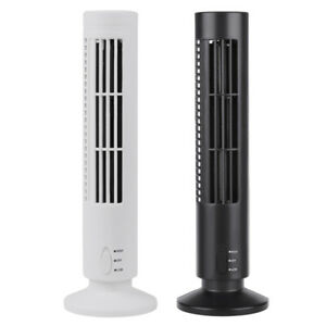 Mini Portable Usb Cooling Air Conditioner Purifier Tower Bladeless Desk Fan 13 Quot Ebay