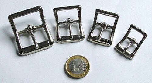 "Druckguss 1/"" ca 4 x Doppelschnallen 25mm"