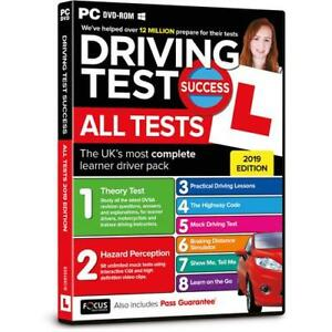 2019 Driving Theory Test Success All Tests And Hazard Perception PC DVD Rom NEW