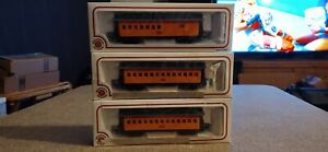 Bachmann-HO-Scale-Old-Time-voitures-particulieres-2-autocars-et-1-combiner