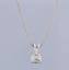 1-02-Carat-G-VS1-18ct-White-Gold-Diamond-Pendant-Necklace thumbnail 2