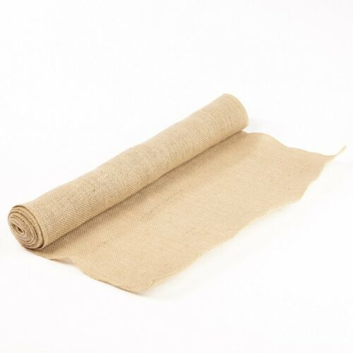 Hessian Fabric Roll 50cm//19.5 inches x 3m//10ft Natural