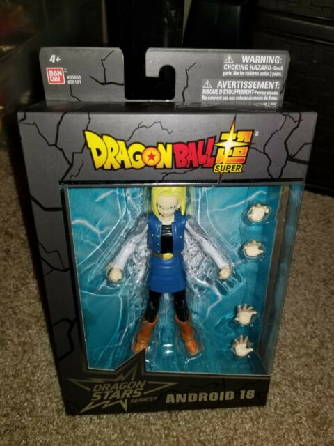 "Bandai Dragon Ball Dragon Stars series 12 ANDROID 18  6"" Action Figure NIB"