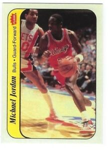 1986-87-Fleer-Michael-Jordan-Rookie-Sticker-8-RP-GEM-MINT-Condition