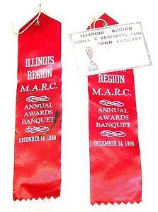 1968-MARC-Model-A-Restorer-Auto-Car-Club-Chicago-Banquet-Ribbons-Ticket-Show-Ofr