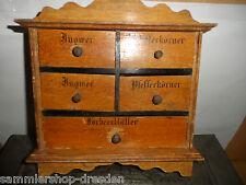 24295 Gewürzregal Biedermeier 2x Ingwer 2x Pfefferkörner spice shelve painted
