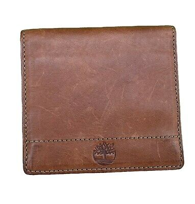 Unisex Premium Brown Small Soft Distressed Leather Wallet Credit Card Holder ID