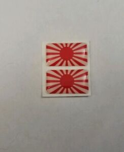 JAPAN-RISING-SUN-FLAG-3D-DOMED-BADGE-LOGO-EMBLEM-STICKER-GRAPHIC-DECAL-CAR-JDM