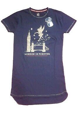 Ladies Primark Tinkerbell Nightwear Long Tshirt
