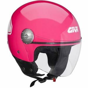 helme jet helm motorroller enduro givi h107 pink minimo. Black Bedroom Furniture Sets. Home Design Ideas