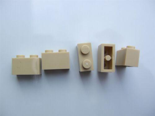 5 x Lego Brick yellow rectangular bricks Parts /& Pieces size 1x2 – 4109995