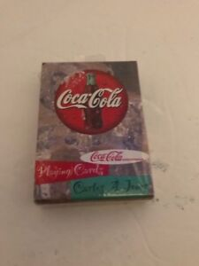 Bicycle-Brand-Coca-Cola-Playing-Cards-Sealed-New-Old-Stock-Poker-Size-Coke