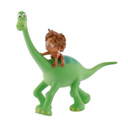 Official Bullyland Disney The Good Dinosaur 4 Cake Topper Toy Figures to Colle