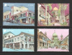 SINGAPORE-2018-AREAS-OF-HISTORICAL-SIGNIFICANCE-COMP-SET-OF-4-STAMPS-MINT-MNH