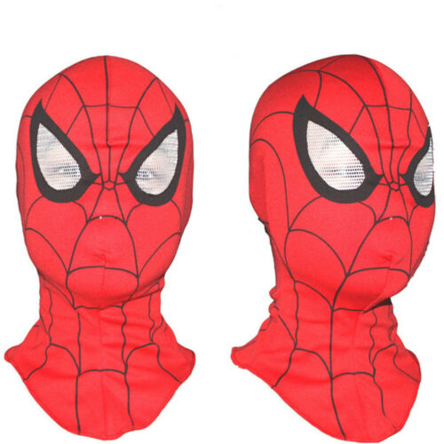 New Adult Kids Cosplay Spider-Man Mask Fancy Dress Costume Party Accessory Toy