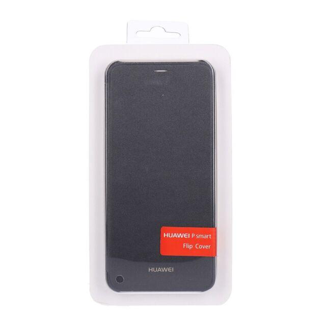 Huawei Schutzhülle Flip Cover für  P Smart schwarz