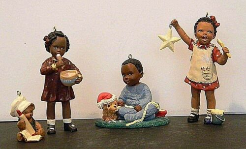"""All God's Children"" Series of Three Hallmark Keepsake Ornaments"