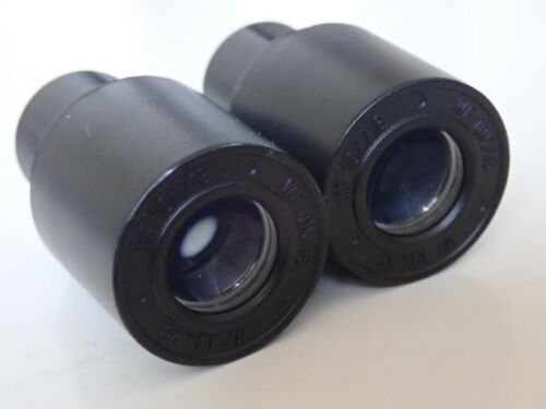 Eyepiece pair for biological microscope widefield WF10x//18 with GRATICULE