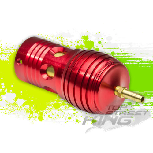 JDM RACING ADJUSTABLE ALUMINUM RFL TYPE-C TURBO BLOW OFF VALVE BOV 30 PSI RED
