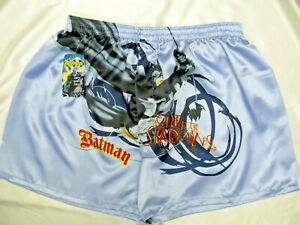 Mens-boxers-shorts-Batman-Out-of-Shadows-soft-satin-Size-L-1828-Acorn-k