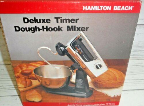 New Hamilton Beach Deluxe Timer Dough Hook Mixer 45c 9 Speed