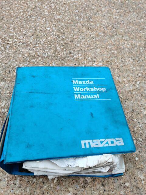 2001 Mazda 626 Service Repair Workshop Manual Electrical