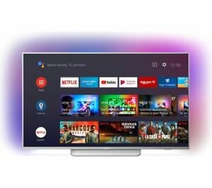 """PHILIPS Ambilight 55PUS8204/12 55"""" Smart 4K Ultra HD HDR LED TV with Google Assi"""