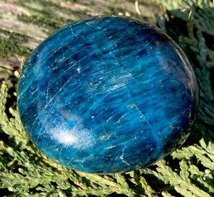 124-1g-VIVID-BLUE-GREEN-APATITE-CRYSTAL-POLISHED-HEALING-ROCK-Reiki-NORWAY